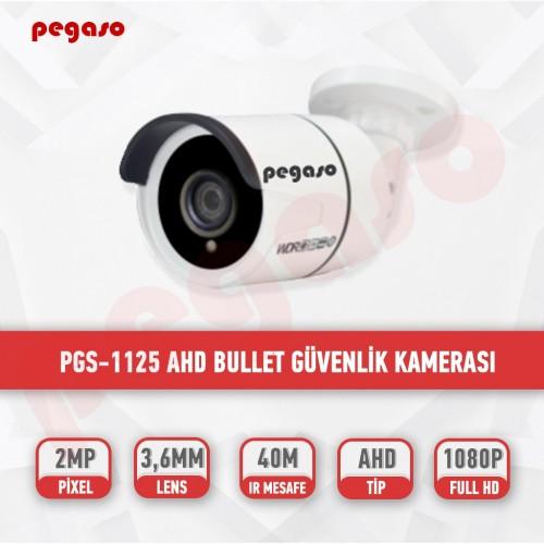 PEGASO PGS-1125 2 MP, 3.6 MM, 36 IR LED, AHD GÜVENLİK KAMERASI