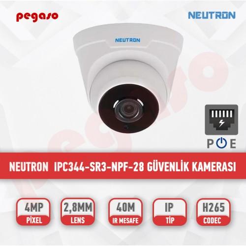 NEUTRON 4 MP POE IPC344-SR3-NPF-28 IP DOME GÜVENLİK KAMERASI
