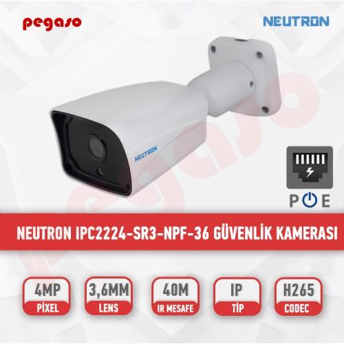 NEUTRON 4MP IPC2224-SR3-NPF-36 IP BULLET GÜVENLİK KAMERASI