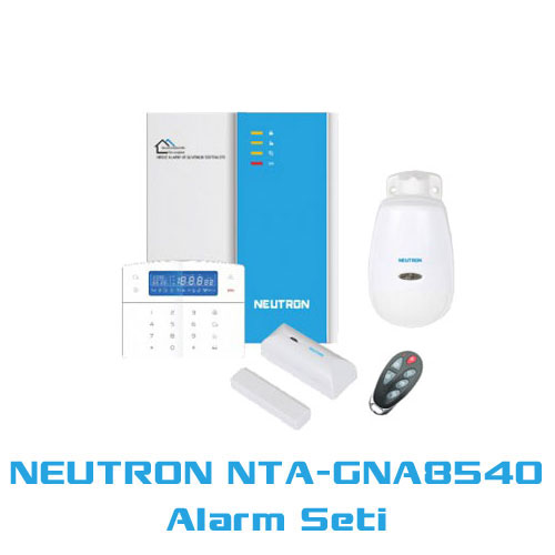 NEUTRON ALARM TA-GNA8540 GSM KABLOLU KABLOSUZ ALARM SETİ