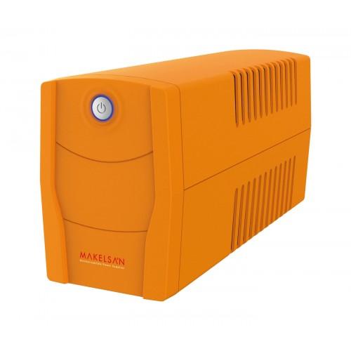 MAKELSAN Lion X 650VA 1x7AH 5-10dk Line Interactive UPS