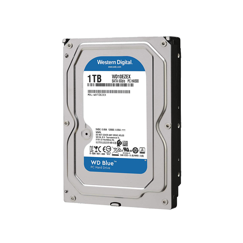 1 TB 3.5 WD 7200RPM SATA3 64MB BLUE WD10EZEX HARDDİSK