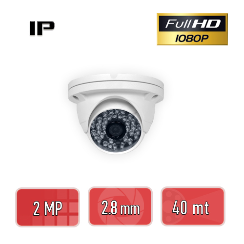 PEGASO PGS-2220 2 MP, 3,6 MM, 48 IR LED, IP DOME GÜVENLİK KAMERASI