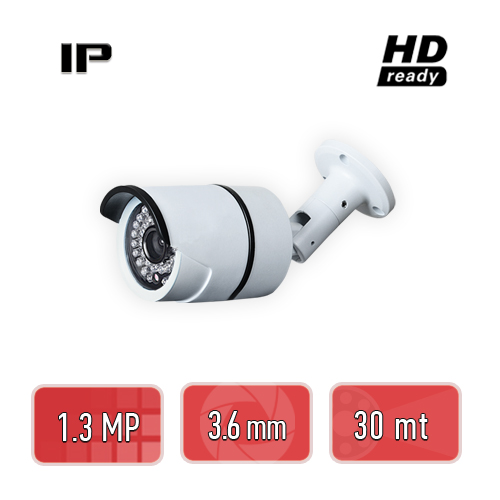 PEGASO PGS-4213 1.3 MP, 3.6 MM, 36 IR LED, IP BULLET GÜVENLİK KAMERASI