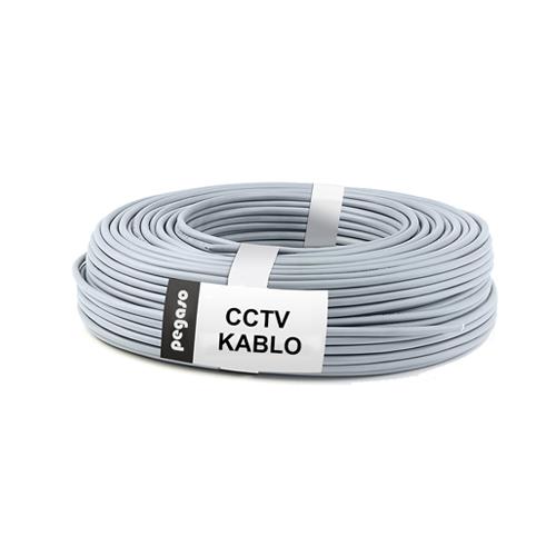 PEGASO 100 METRE CCTV KAMERA KABLOSU  (1 COAX + 2X050MM)